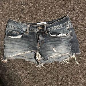 Victoria's Secret PINK denim cut off shorts